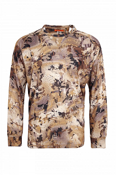 Remington Blend Shirt Yellow Waterfowl Honeycombs